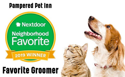 Pampered Per Inn Winner of Favorite Pet Groomer